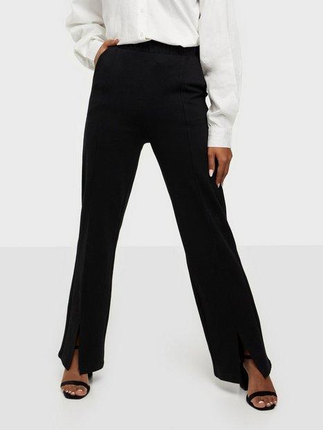 Gina Tricot Klara trousers Bukser Black
