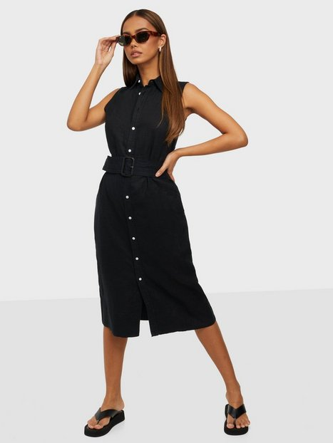 Polo Ralph Lauren Sl Kngsly Dr-Sleeveless-Casual Dress Loose fit dresses