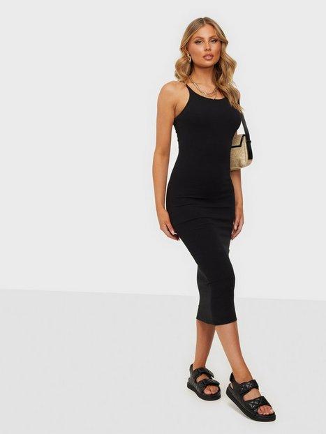 Dr Denim Loreen Dress Tætsiddende kjoler Black