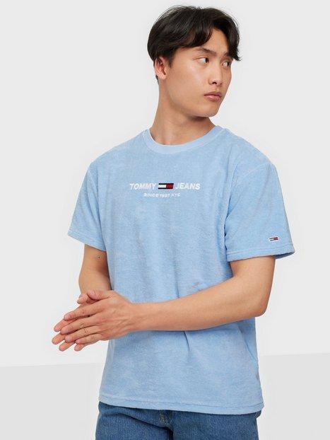 Tommy Jeans Tjm Toweling Tee T-shirts & undertrøjer Blå