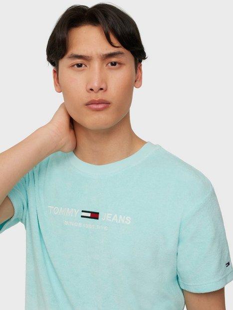 Tommy Jeans Tjm Toweling Tee T-shirts & undertrøjer Blue