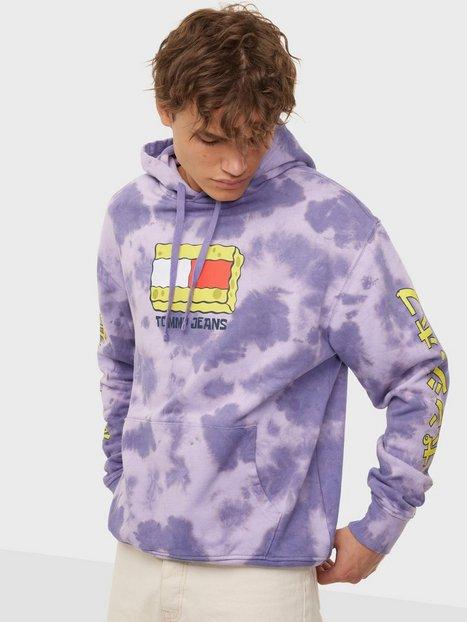 Tommy Jeans Abo Tju X Spongebob Hoodie Trøjer Purple