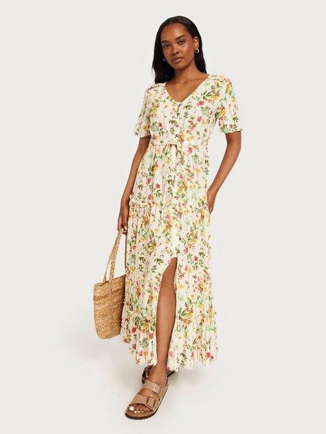Object Collectors Item Objlorena S/S Long Dress Noos Loose fit dresses