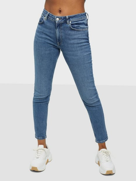 Gant D1. Farla Cropped Jeans Slim fit Light Blue