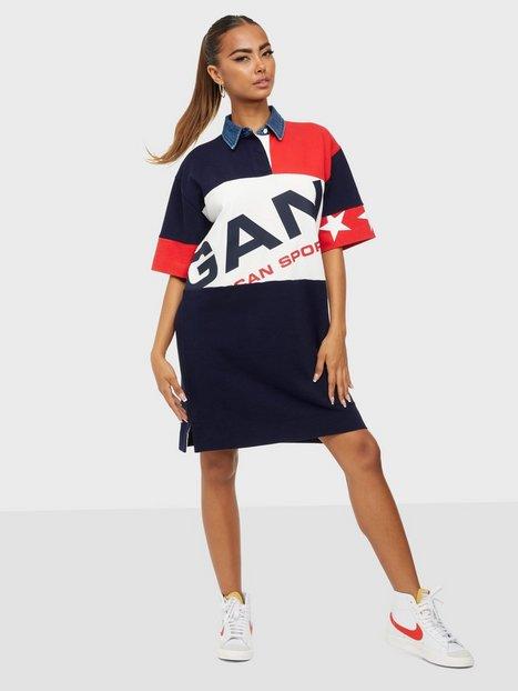 Gant D2. Gant Retro Shield Rugger Dress T-shirtklänningar