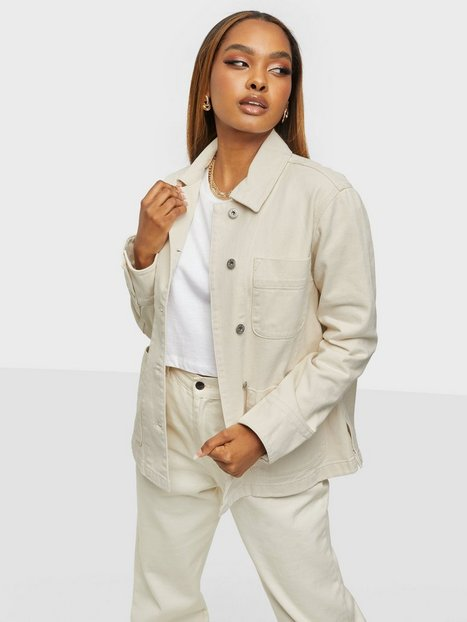 Gant D1. Organic Cotton Shirt Jacket Denimjakker