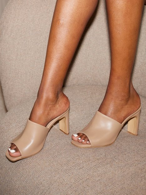 NLY Shoes The Perfect Mule Pumps Beige
