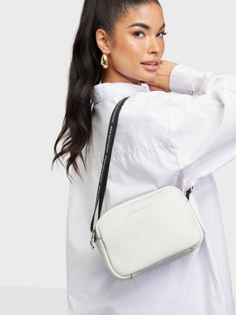 Calvin Klein Jeans Double Zip Camera Bag Tasker White