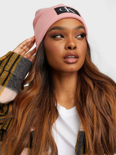 Calvin Klein Jeans Beanie Monogram Beanies, Scarves & Gloves Pink