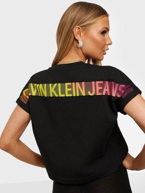 Calvin Klein Jeans Degrade Back Logo Tee Toppe Black