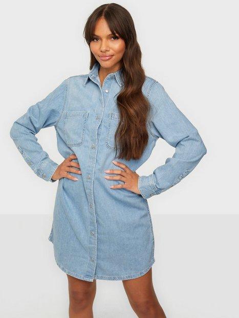 Calvin Klein Jeans Relaxed Shirt Dress Langærmede kjoler