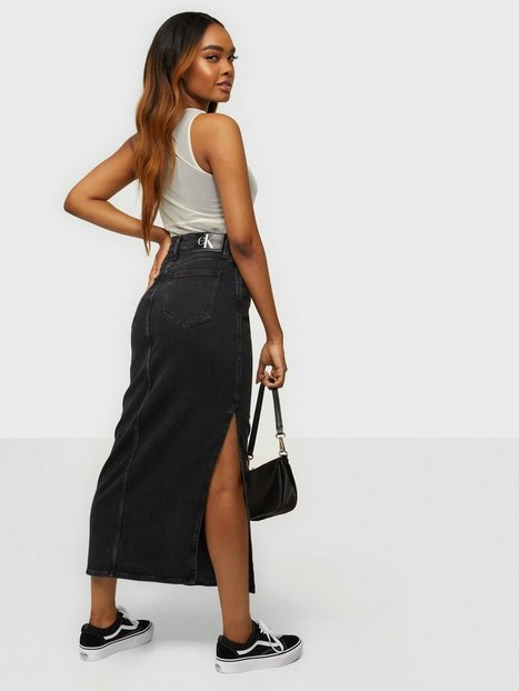 Calvin Klein Jeans Maxi Skirt Maxinederdele