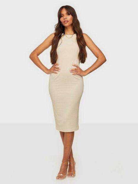Calvin Klein Jeans Rib Zip Dress Tætsiddende kjoler