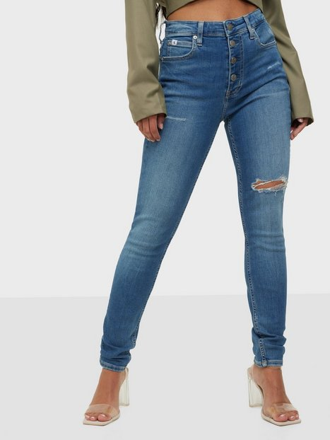 Calvin Klein Jeans High Rise Skinny Skinny fit