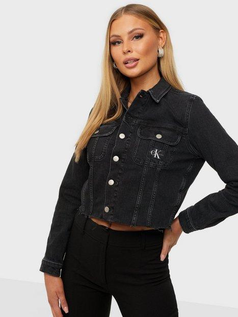 Calvin Klein Jeans Cropped 90S Denim Jacket Denimjakker