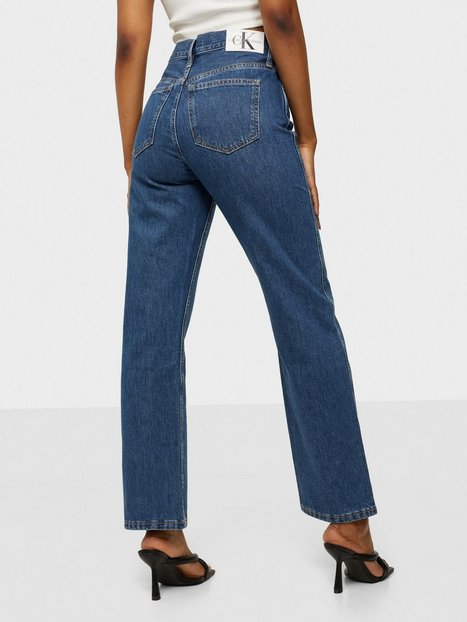 Calvin Klein Jeans High Rise Straight Ankle Straight fit