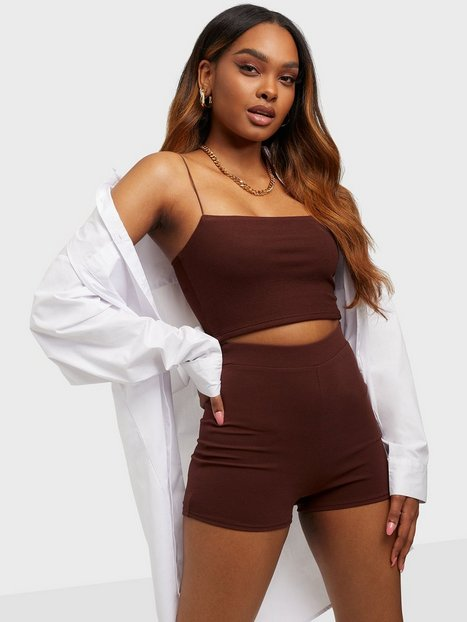 NLY One The Hot Pant Shorts Chocolate
