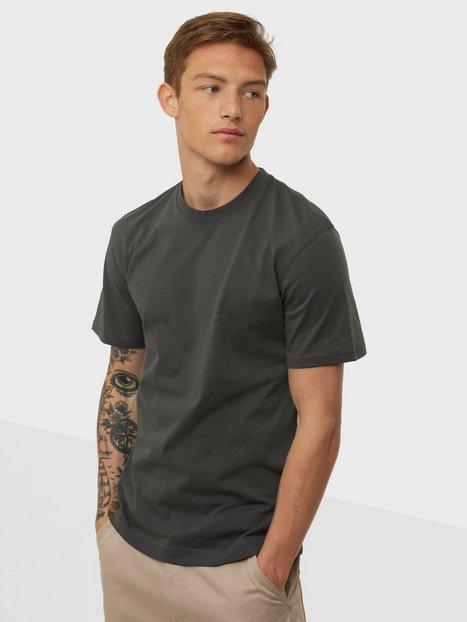 Jack & Jones Jjerelaxed Tee Ss O-Neck Noos T-shirts & undertrøjer Asphalt Relaxed