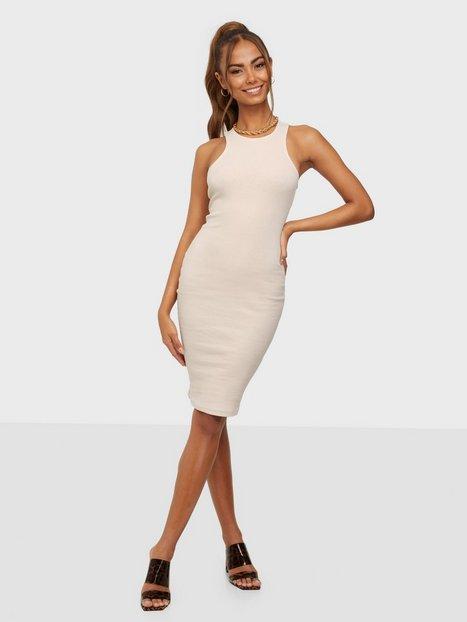 Noisy May Nmmalou S/L Knee Dress Tætsiddende kjoler
