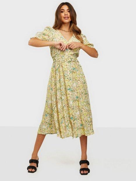 Y.A.S Yasstencil 2/4 Midi Dress S. Loose fit dresses