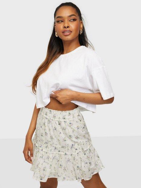 Neo Noir Cosy Sprinkle Flower Skirt Mini nederdele