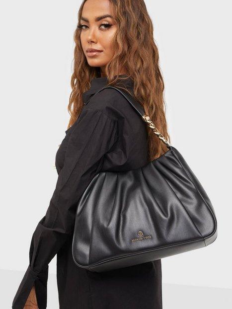 Se Michael Michael Kors Hannah Shoulder Bag Skuldertasker ved Nelly