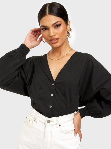 Co'couture Cosmo V-Neck Shirt Hverdagsbluser