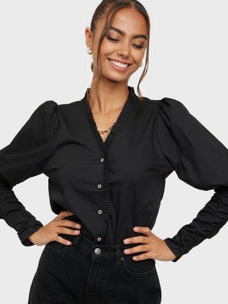 Co'couture Sandy V-Frill Shirt Hverdagsbluser