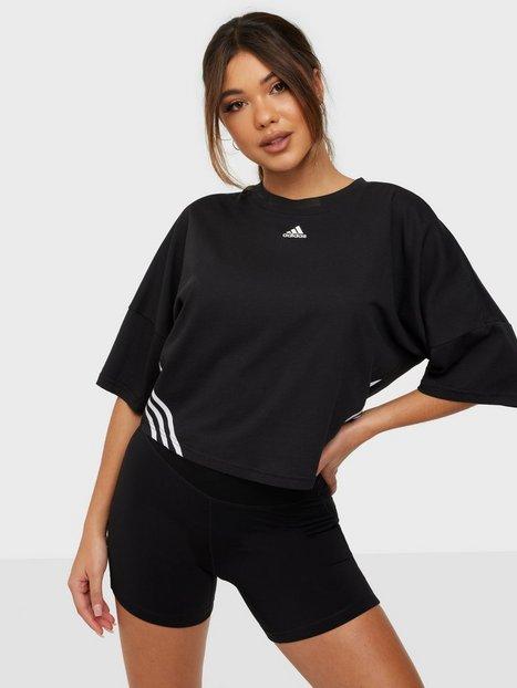 Adidas Sport Performance Cropped Tee W Toppar Kortärmade