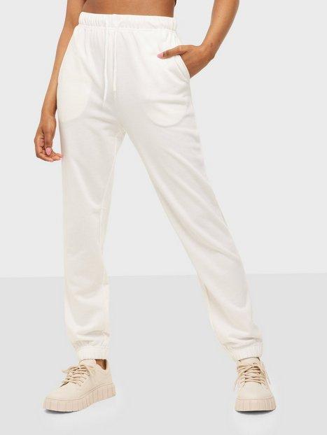Pieces Pcchilli Summer Hw Sweat Pants D2D Joggingbukser Bright White