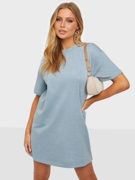 Pieces Pcchilli Summer 2/4 Sweat Dress D2D Loose fit dresses Blue Fog