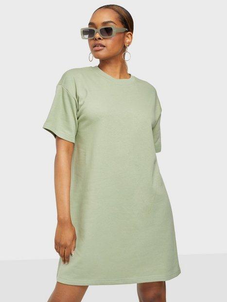 Pieces Pcchilli Summer 2/4 Sweat Dress D2D Loose fit dresses Desert Sage