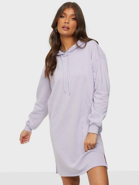 Pieces Pcchilli Summer Ls Hoodie Dress D2D Loose fit dresses Purple Heather