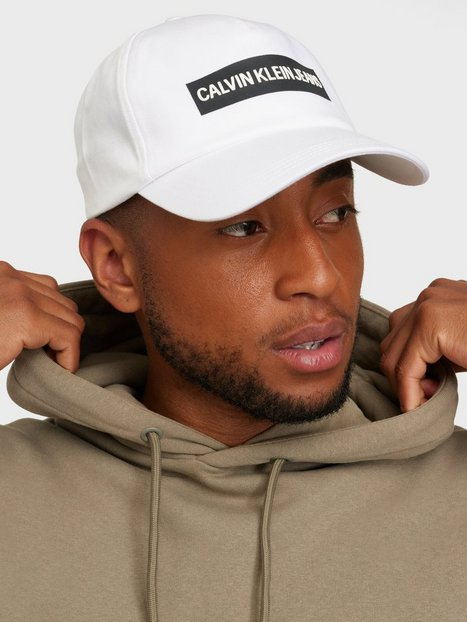 Calvin Klein Jeans Cap Institutional Kasketter White