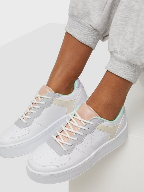 NLY Shoes Edition Platform Sneaker Low Top Multicolor