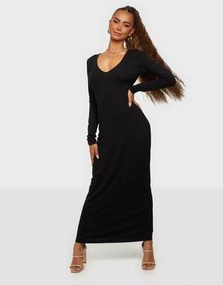 Samsøe Samsøe Patty long dress 14119 Tætsiddende kjoler Black