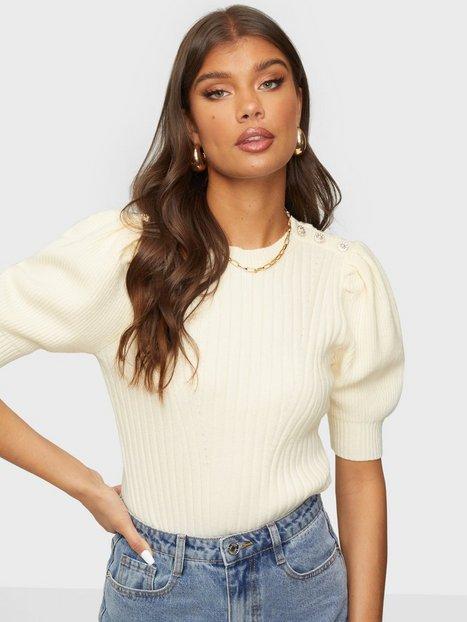 Y.A.S Yasglimta Ss Knit Pullover S. Strikkede trøjer