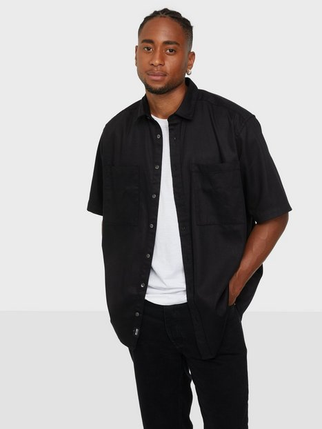 Only & Sons Onsneo Life Ss Tencel Relaxed Shirt Skjorter Black