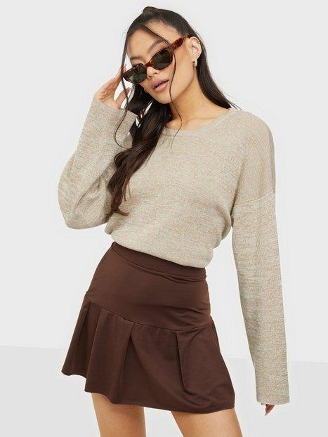 Selected Femme Slfsun Ls Knit O-Neck B Strikkede trøjer