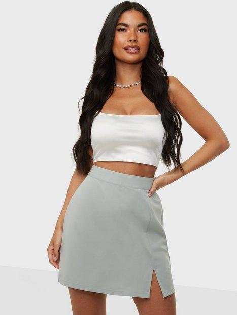 Vero Moda Vmzelda H/W Mini Skirt Exp Mini nederdele Desert Sage