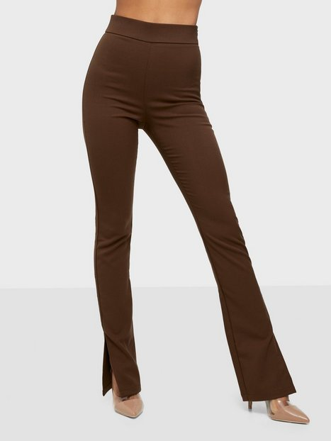 Bianca x Nelly.com Everyday Pants Bukser Brun
