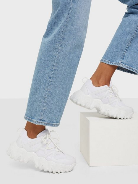 NLY Shoes Chunky Layered Sneaker Chunky Sneakers Vit