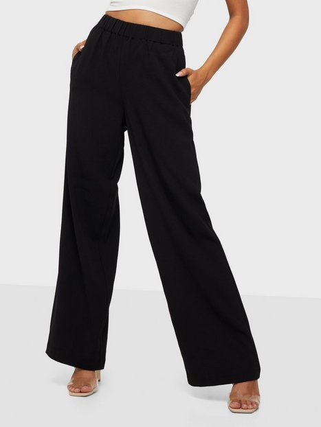 Selected Femme Slftinni-Relaxed Mw Wide Pant B Noo Bukser