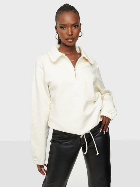 Se Selected Femme Slffreja Ls Sweat W Sweatshirts ved Nelly
