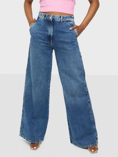 Selected Femme Slfjenni Hw Dark Blue Denim Jeans U High waisted jeans