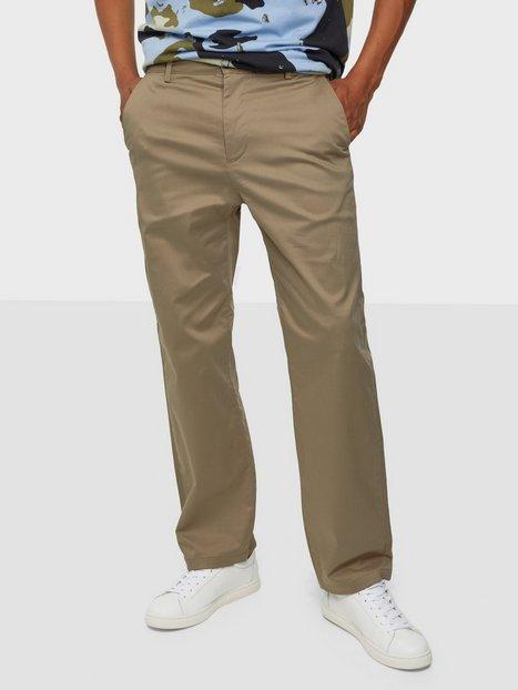 Selected Homme Slhloose-Salford 220 Flex Pants W Bukser Chinchilla