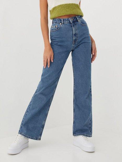 Only Onlcamille Life Ex Hw Wide Dnm Wide leg jeans Medium Blue Denim Nas342