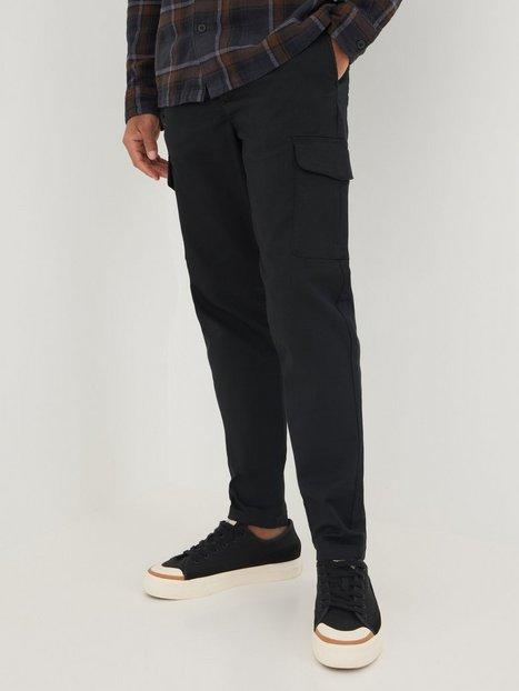 Selected Homme Slhslimtapered-Gainford Cargo Pants Bukser Black