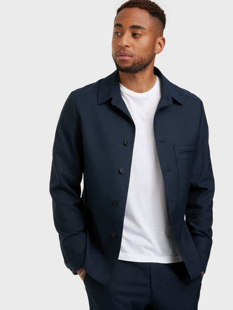 Selected Homme Slhreg-Luke Hybrid Blazer B Blazere & jakkesæt Dark Navy