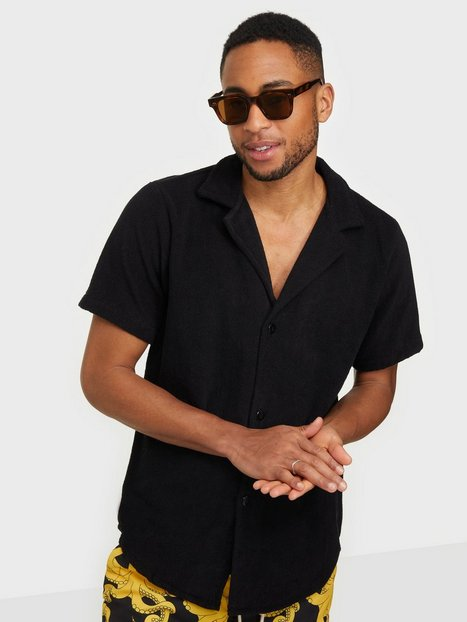 OAS Cuba Terry Shirt Skjorter Black